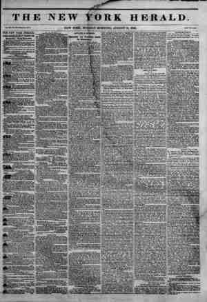 1 ? Tfl] Vol. in, la. KM-WMa Mo. M7>. THE NEW YORK HERALD. JAMES 8QRD0N BENNETT PROPRIETOR. Circulation---Forty Thousand....