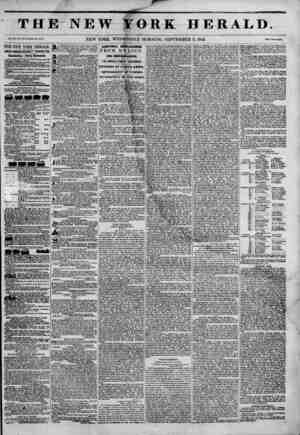 1 A TH] Vol. XII, No. \\ hole So. 443 7. THE NEW YORK HERALD. JAMES GORDON BENNETT PROPRIETOR. uircuiauon---rcny inouBauui
