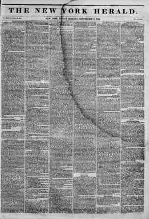 I. TH] Vol. Ill, No. Mo. N*w Haven, Sept. ith. 184?. fracetjingi / the Jlwuric on Beard aj Foreign Mittioni. AccorJiug to a