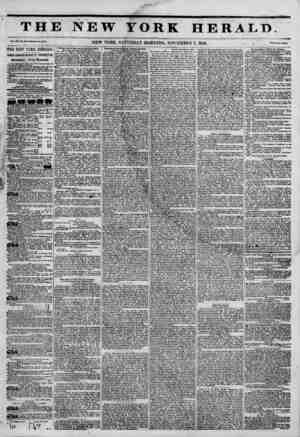 TH] Vol xa, No. UUU-Whol* No. ?54.1. THE NEW YORK HERALD.: IAMES 60RBON BENNETT PROPRIETOR. Circulation---Forty Thousand,...