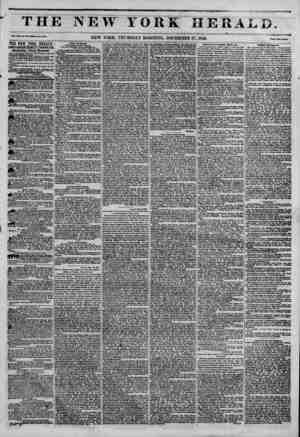 ' THJ Vol. XI1, No. 330?Who 1? No. *583. THE NEW YORT HERALD. JAMES 68R00N BENNETT PROPRIETOR. Circulation---Forty Thousand.