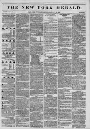 1 THJ Vol. Kill, No. It-WhoU Ro. IflUtl. THE NEW YORK HERALD.' JAMES GORDON BENNETT, PROPRIETOR. Circulation?Forty Thousand.