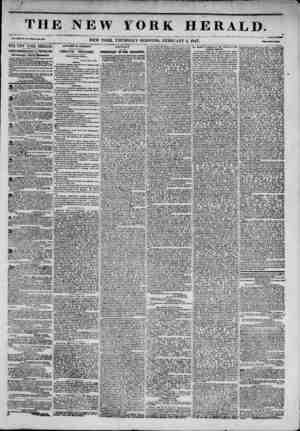 / / TH Vol. XIII, Ro, 34-Whole Ro. 4631 THE NEWYORK HERAm JAMES GORDON BENNETT, PROPRIETOR. Circulation?Forty Thousand. DAILY