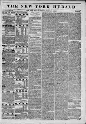 mi Li. i,i' u THj Vol. MI, ?? itlUWlMU M35 THE NEWYORK HERALD. 1 JAMES GORDON BENNETT, PROPRIETOR. Circulation?Forty...