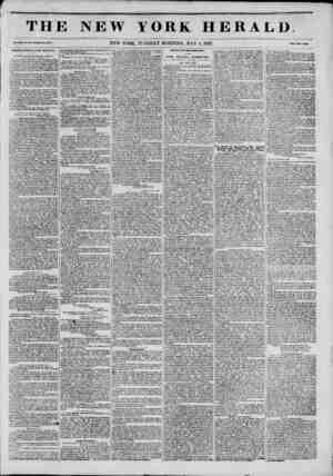 r TH1 * Vol. XIU. No. 1'43?Whole No. 4740. NEWS FROM THE SOUTH. [ from the New Orleans Picayune, April 24.] THE CHANCES OF