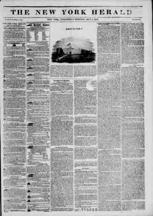 "r "" x JMUmm TH1 Vol. XJJL1. Bo. l!il?Whol? Bo. *791* THE BEW TORK HERALD ESTABLISHMENT, Boi th-wtit corner of Fulton and..."