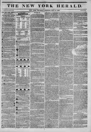 TH Vol. X1H. Ho. 148?Whole Mo. 4744. THE NEW TORE HERALD ESTABLISHMENT, trithnr?it corner of Fulton and Rum at*. lAMES GORDON