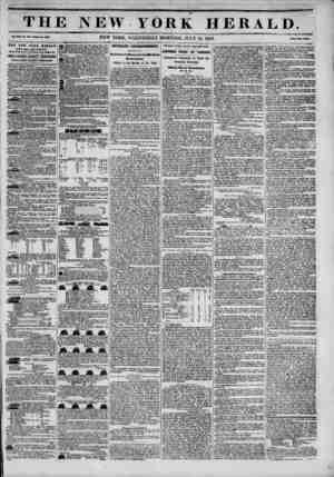 TH Vol. XIII. No. 19*?Whole Mo. W5. THE NEW YOKE IIERALD ESTABLISHMENT, North-welt corner of Fulton and W Ms. JAMES G0RDOH