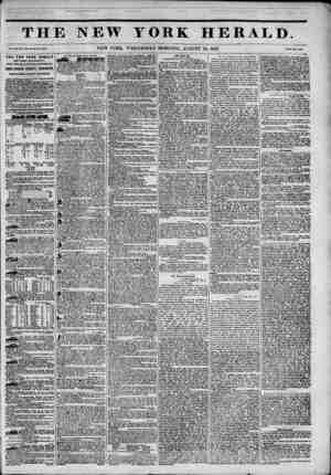 n i BMHHMHBHBUHi TH Vol. XIII. No. ^'jtUWhoU No. 4HM I. THE NEW YORK HERALD ESTABLISHMENT , Nortli-WMt comer of Fulton and