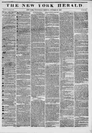 T 11J Vol. XIU. No. VJt>t_Whole No. 4891. THE NEW YORK HERALD ESTABLISHMENT, RoitlfWeit rorner of Fulton anil Nuttu Itl,...