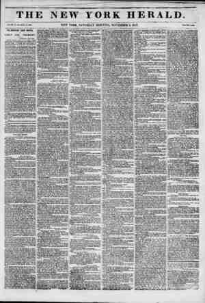 T H ] Vol. xm. No. 30i?wiiol* Wo. 4901. THE IMPORTANT COURT MARTIAL J OP LIEUT. COL. FREMONT. 1 Washington, Not 4, 1047....