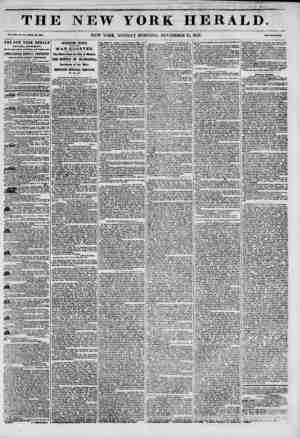 1 . . .1 1 TH Vol. XIII. No. 313_Wtiol? No. 4010. THE NEW TORE HERALD ESTABLISHMENT, North-wast oom?r of Fulton and Hum ill,