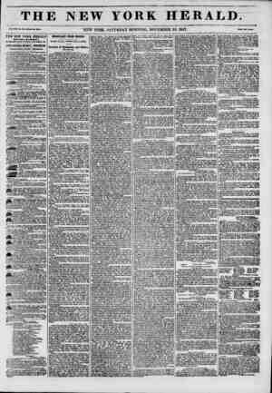 TH Vol. XIII. No. 3M.Whol? No. 401% THE NEW YORK HERALD ESTABLISHMENT, North-wort oornor of Pulton and Nuni ata, JAMES GORDON