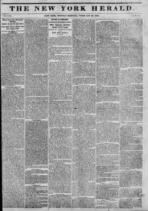 THJ <Vbol? No. 50*4. Highly Interesting' Newspaper Question. BENNETT AND THE NEW YORK HERALD. Bishop Hughes' Sermon on...