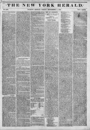 J? TH r*t- r i NO. 5210. Jacob Barker on Utneral Taylor's Klectlou. New York, 6th Sept., 1848. Jakk* Gordon Bersktt. Ksq Dear