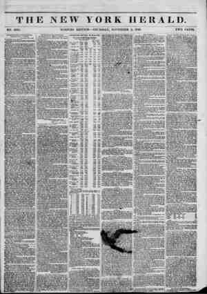 TH NO. 5265. Ilntitfit Uoctrlnca of Mie Fourlcrltea. LKri'KK FROM AIR A. BRISBANE. Khamkfort, Oct. 2,1848. To the Editor of
