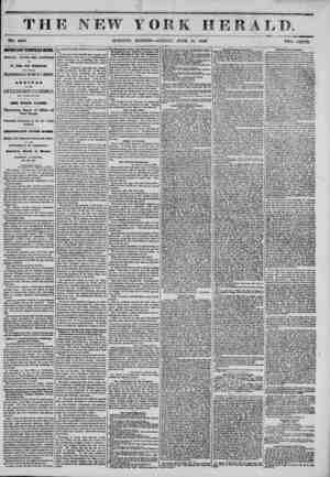 I ' II / ' TH NO. 6488 IMPORTANT EUROPEAN NEWS. SPECIAL OVERLAND EXPRESS TO St* John* New Brunswick, AMD THENCE...