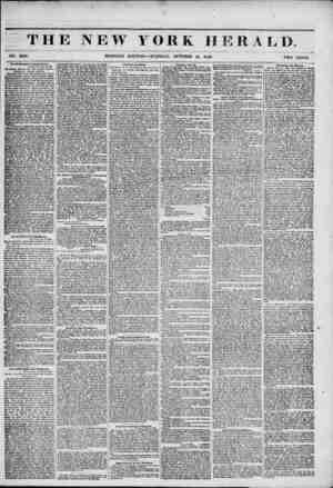 k* , -- ?? - TH NO. 5610. OwWuklngton Correspondence. Washington, Oat 13,1849. TTKt Matfuito Que$tinn ? Th? Tt?o Organs ?...