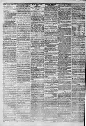 """NEW YORK HERALD. """"llntit corncr of Fulton ?uid JABKI OUttDON BKHIKTV. PROPRIETOR AND EDITOR AMLBKMKMT8 THIS S V EM NO. ROVtKT"""