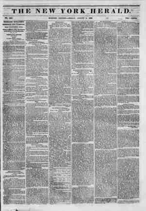 Til NO. 5897. TELEGRAPHIC INTELLIGENCE. INTERESTING FROM WASHINGTON. THE CALIPOU.\| V BILL. Views of Messrs. Clay and Pearce