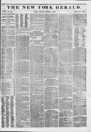 I T 11 WHOLE NO. 6961. THE CALIFORNIA NEWS. Arrival of the Steamships CHEROKEE t*M> EMPIRE CITT, WITH OVER A MILLION AND A