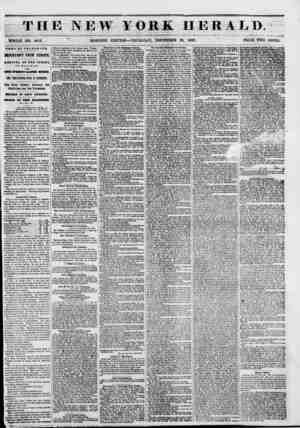 TH WHOLE NO. 60X3. NEWS BY TELEGRAPH. IMPORTANT FROM EUROPE, ARRIVAL OF THB * lit 0 PA AT HALIFAX, wiva oxra WBSE'8 LATER...