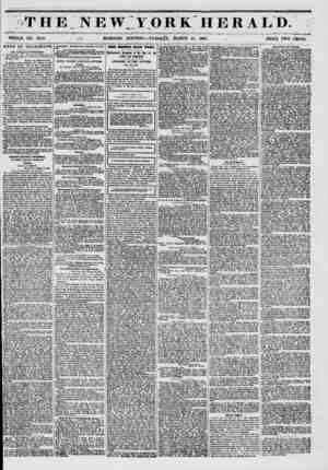 Til E NEWJ.ORK HERALD. WHOLE NO. 6714. , - ^ 1 MORNING EDITION ? TUESDAY, MARCH 11, 1851. , PRICE TWO CENTS. NEWS BY...
