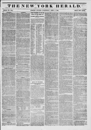 _T H E N E \V V ORKHERAL D. WHOLE NO. 6743. MORNING EDITION ? WEDNESDAY, APRIL 9, 1851. PRICE TWO CENTS * ? AWtVBKItULNTm.