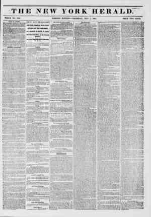"""e THE NEW YORK HERALD: ?y WHOLE NO. 6764. MORNING EDITION?-THURSDAY, MAY 1, 1851. PRICE TWO CENTS. iauu ww """"*1711. MoCOKMICK."""