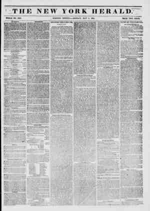 THE NEW YORK HERALD: WHOLE NO. 6768. MORNING EDITION?-MONDAY, MAY 5, 1851. PRICE TWO CENTS. AMl'SKMKNTS. JJOWEflY...