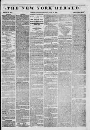 THE NEW YORK HERALD. \ WHOLE NO. 6778. MORNING EDITION?THURSDAY, MAY 15, 1851. PRICE TWO CENTS. unnnum MJUWERY...