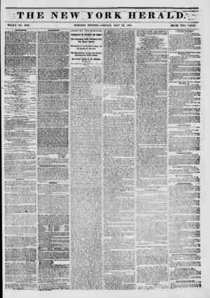 ** . . -sdwk ^ J*. THE NEW YORK HERALD. 0. %tf ? WHOLE NO, 6786. ? MORNING EDITION?FRIDAY, MAY 23, 1851. BlUC? TWO CENTS.'