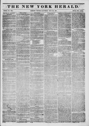 saa THE NEW IORK HERALD; WHOLE NO, 6787. MORNING EDITION?SATURDAY, MAY 24, 1851. PKICE TWO CENTS. . DOUBLE SHEET. MMvmmmmmw.