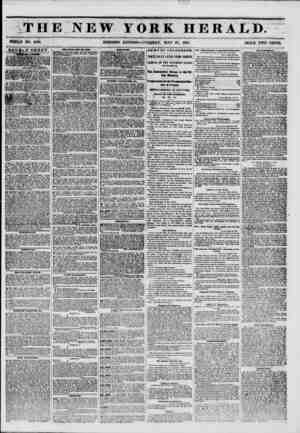 ?' O.Zl THE NEW YORK HERALD. WHOLE NO. 6790. MORNING EDITION?TUESDAY, MAY 27, 1851. PRICE TWO CENTS. double sheet. Auction