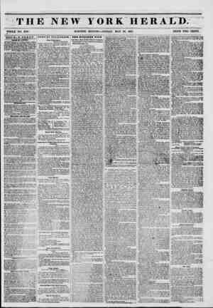 THE NEW FORK HKRAtD. WHOLE NO. 6793. MORNING EDITION?FRIDAY, MAY 30, 1851. PRICE TWO CENTS. DOUBLE SHEET ? ?! ADOVIOIt...