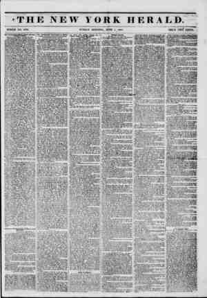 .?iLt.ntuh v. . ij ?i f. >i ;i; ,i ? f <1 o THE NEW YORK HERALD. WHOLE NO. 6795. SUNDAY MORNING, JUNE 1, 1851. PRICE TWO...