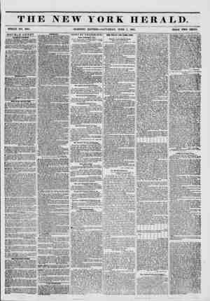 THE NEW YORK HERAED. WHOLE NO. 6801. - MORNING EDITION?SATURDAY, JUNE 7, 1851. PRICE TWO CENTS. DOUBLE SHEET. ?alm mw Aucnoi.