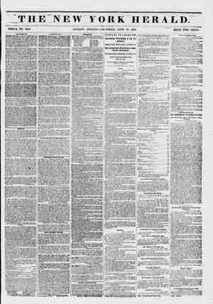 THE NEW YORK HERALD. v-vtr * :- - WHOLE NO. 6800. MORNING EDITION?THURSDAY, JUNE 1851. PRICE TWO CENTS. AMTKKMKVTS. ^ ^...