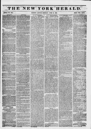 """THE NEW""""YORK HERALD. WHOLE NO. 6810 MORNING EDITION?MONDAY, JUNE 16, 1861. PRICE TWO CENTS. B AMUSKKKNTS. OWEBT..."""