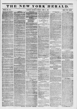 m THE NEW YORK HERALD. WHOLE NO. 6811. MORNING EDITION?TUESDAY, JUNE 17, 1861. PRICE TWO CENTS. DOUBLE SHEET. ANtlKHBRTa lit