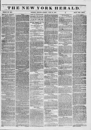 THE NEW YORK HERALD. WHOLE NO. 6821. MORNING EDITION?FRIDAY, JUNE 27, 1851. f2 PRICE TWO CENTS. 0OUBLE SHEET. ?ALES BV...