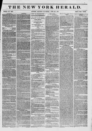 f THE NEW YORK HERALD. WHOLE NO. 6822. MORNING EDITION?SATURDAY, JUNE 28, 1851. PRICE TWO CENTS. AHV8EMKIVT8. IUWERY THEATRE.