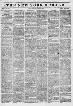 *#??W????? TH WHOLE NO. 6843. NEWS BY TBEKOKAPB. From Wwihlnfton. WASHINGTON, Julf 19 1851 The Post Olltce Department deoidos