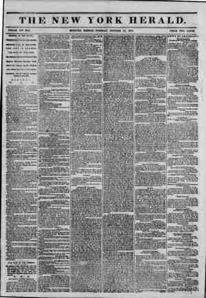 """THE NEW YORK HERALD. . _ ? WHOLE NO"""" 6627. MORNING EDITION-TUESDAY, OCTOBER 17, 1854. PRICE TWO CENTS. ARRIVAL OF THE..."""