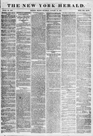 THE NEW YORK HERALD. WHOLE NO. 6726. MORNING EDITION-THURSDAY, JANUARY 25, 1855. PRICE TWO CENTS. AOTZKTISEMENTS RENEWED...