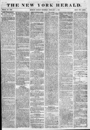 THE NEW YORK HERALD. WHOLE NO. 6733. MORNING EDITION-THURSDAY, FEBRUARY 1, 1855. PRICE TtfO CENTS. HARBOR ENCROACHMENTS....