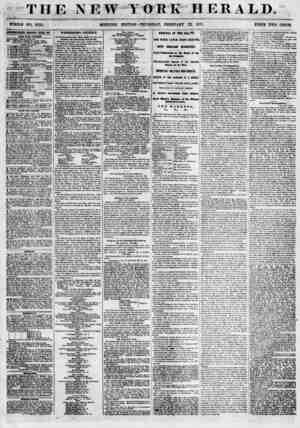 """THE NEW YORK HERALD. WHOLE NO. 6754. iBTnUSfiEMTS EElfEWKB 1TMT DIT TUB RSUOS. """"T^LJSVENIH ANNl'Al, BALI. OF JSj 8IOMON 'B"""