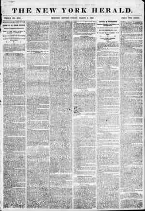 THE NEW WHOLE NO. 6762 MORNING ?-t M tYAfffJfI n MOT W5T/ * :* YORK HERALD. EDITION-FRIDAY, MARCH 2, 1855. PRICE TWO CENTS.