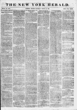 THE NEW TfiKK HERALD. WHOLE NO. 6770. MORNING EDITION-SATURDAY, MAROH 10, 1855. PRICE TWO CENTS. THE KITAL ENCOUNTER AT...