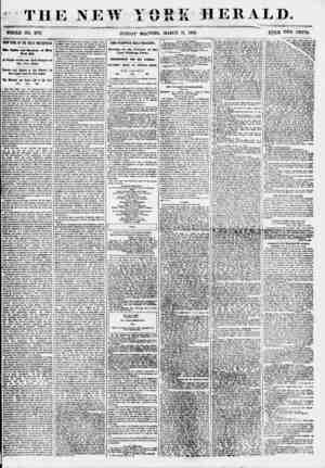 THE NEW YORK HERALD. ... ' . WHOLE NO. 6771 SUNDAY MOANING, MARC3 U, 1855. ??TCE TWO CENTS. COUP D'(HL OF THE GREAT...